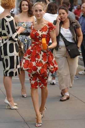 Sarah Jessica Parker in the vintage bubble dress from 'Sex and The City' (the movie)